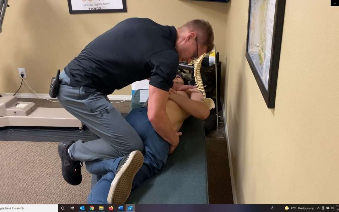 Gonstead Chiropractic Adjustment in San Diego – ASEx Ilium pull
